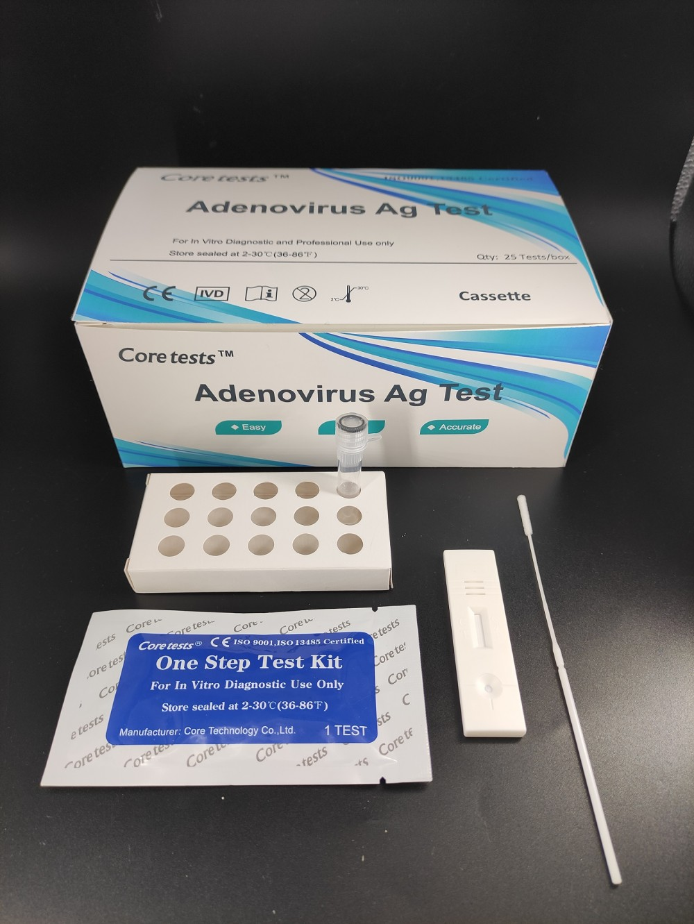 Adenoviruses Ag Test