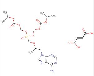 TDF(富马酸替诺福韦二吡呋酯)