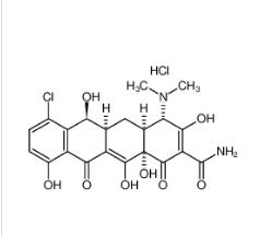去甲基金霉素 64-73-3