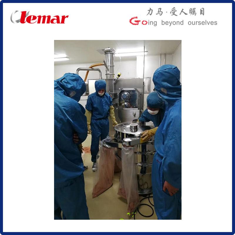 湿敏热敏性物料干法制粒机LG-100