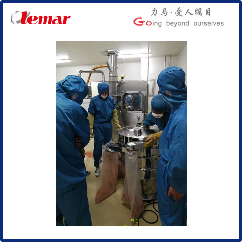 60Kg干膏粉擠壓干法制粒機
