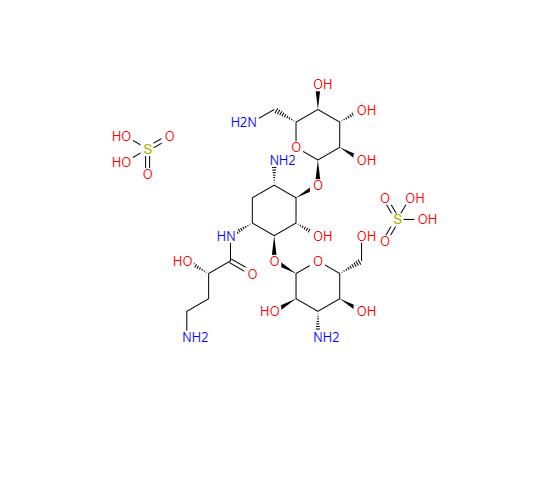 149022-22-0 Amikacin sulfate salt 硫酸阿米卡星