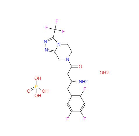 654671-77-9 磷酸西他列汀一水合物 Sitagliptin phosphate monohydrate
