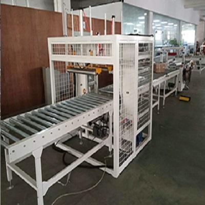 大宏SP1000新款建材管材型材全自动无人化流水作业缠绕包装机