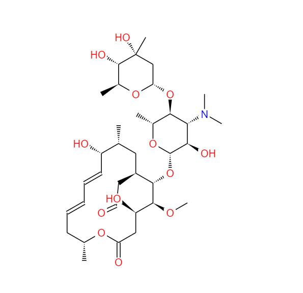 1392-21-8 Sineptina 吉他霉素 柱晶白霉素水合物 柱晶白霉素
