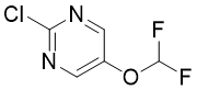 2-氯-5-(二氟甲氧基)嘧啶