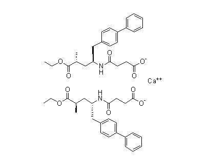 (alphaR,gammaS)-gamma-[(3-羧基-1-氧代丙基)氨基]-alpha-甲基联苯-4-戊酸乙酯钙盐