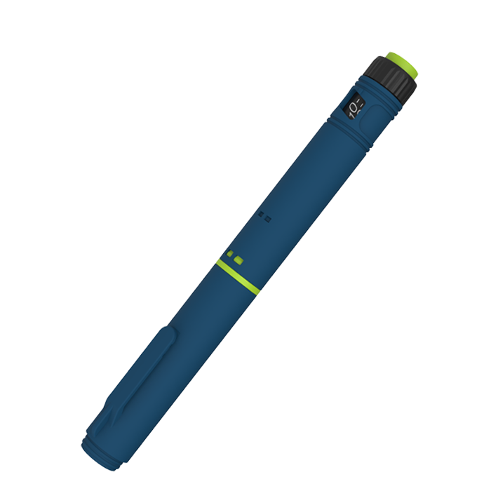 Disposable pen injector for  Insulin  in 60IU