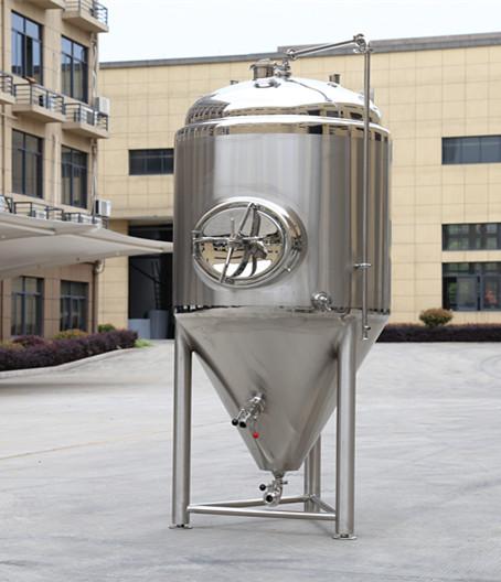 廠家直銷不銹鋼錐形發酵罐釀造設備