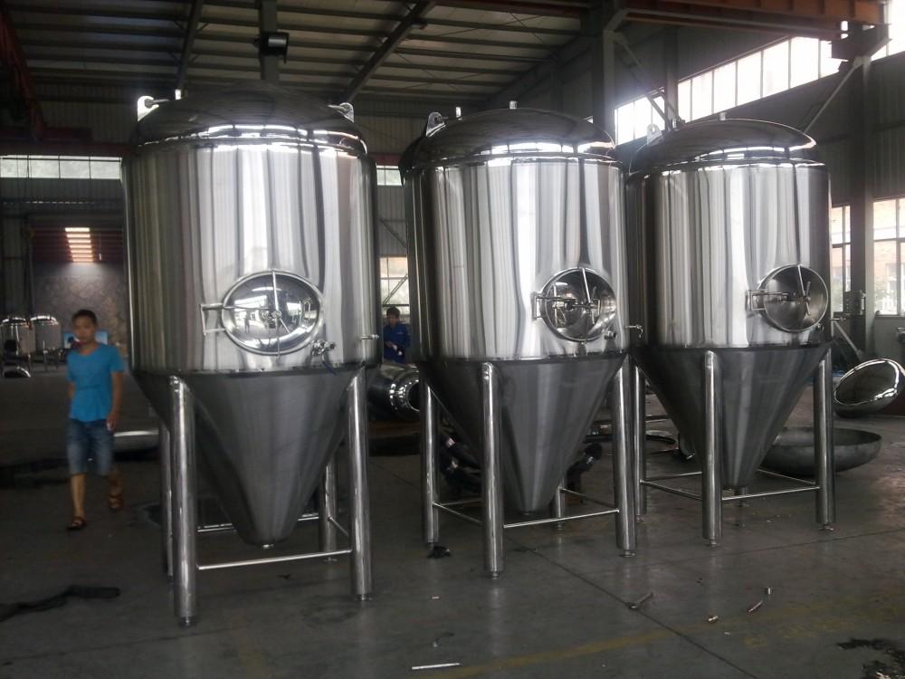 不銹鋼錐形發酵罐釀造設備
