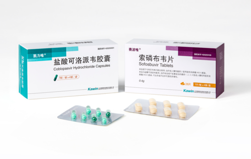 鹽酸可洛派韋膠囊/索磷布韋片