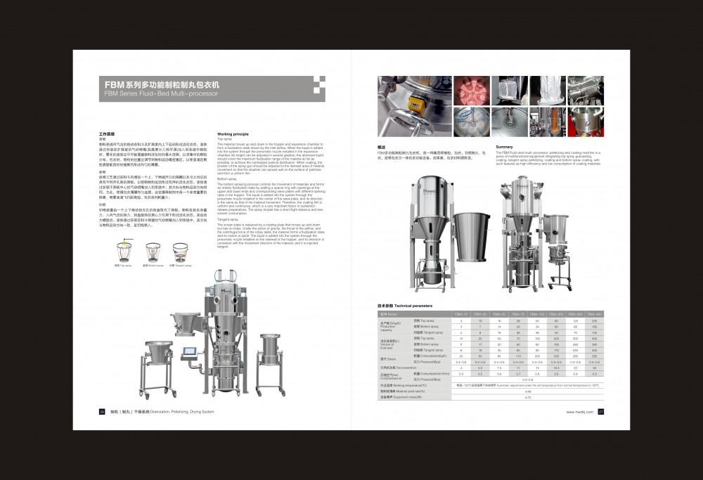 FBM系列多功能制粒制丸包衣机