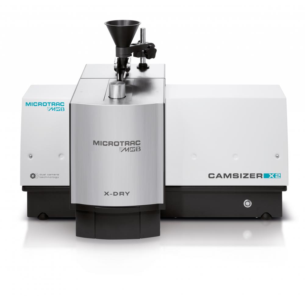 動態圖像法粒度粒形分析儀 Camsizer X2