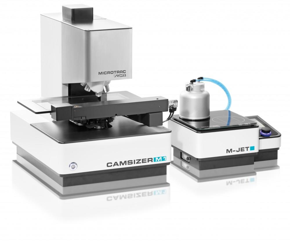 静态图像法粒度粒形分析仪CAMSIZER M1