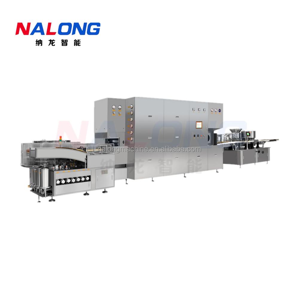 NLKF5-30 高速口服液洗烘灌軋聯動線