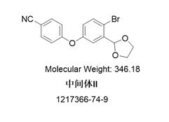 4-[4-溴-3-(1,3-二氧雜環戊烷-2-基)苯氧基]苯甲腈