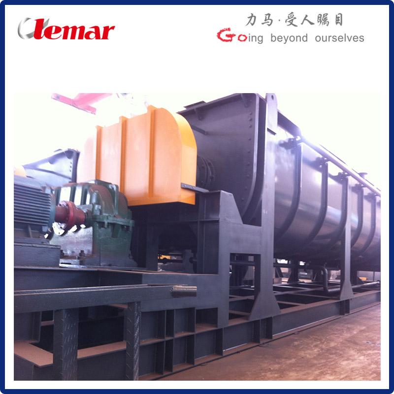 熱電廠槳葉式污泥干燥機