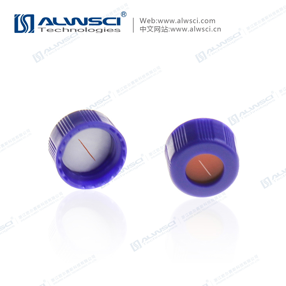 9-425 2mL进样瓶特氟龙PTFE硅胶盖垫 预切口
