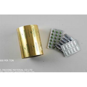 **用PTP aluminium foil 铝箔
