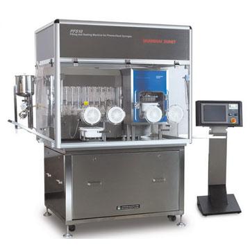 PFS10預灌封注射器充填真空壓塞設備 糖漿劑機械