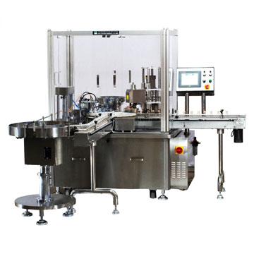 FSC小剂量液体充填压塞锁盖机
