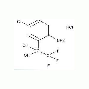 4-氯-2-(三氟乙酰基)苯胺盐酸盐水合物 中间体