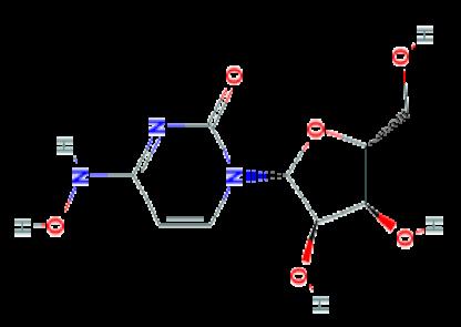 图1 Molnupiravir的分子式