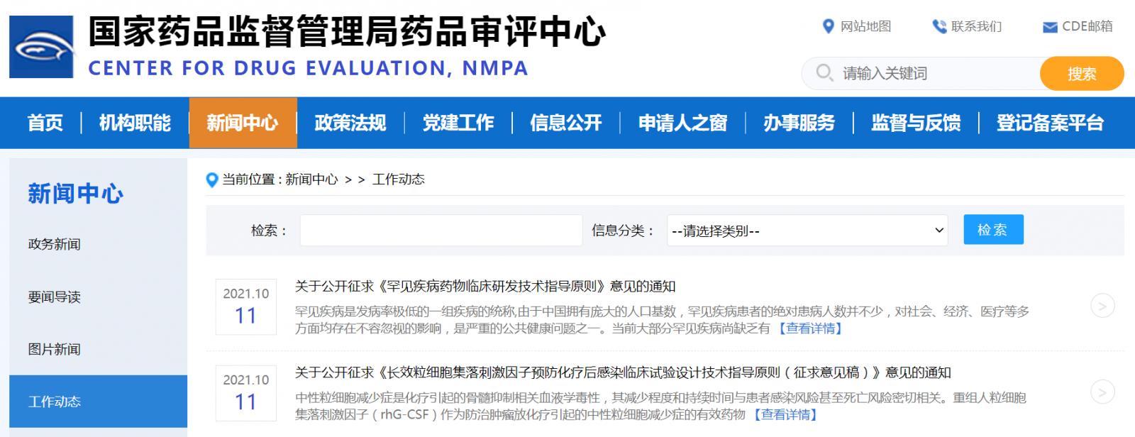 国家药品监督管理局药品审评中心